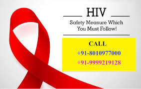 HIV positive patients treatment in Kirti Nagar,Delhi – 8010977000